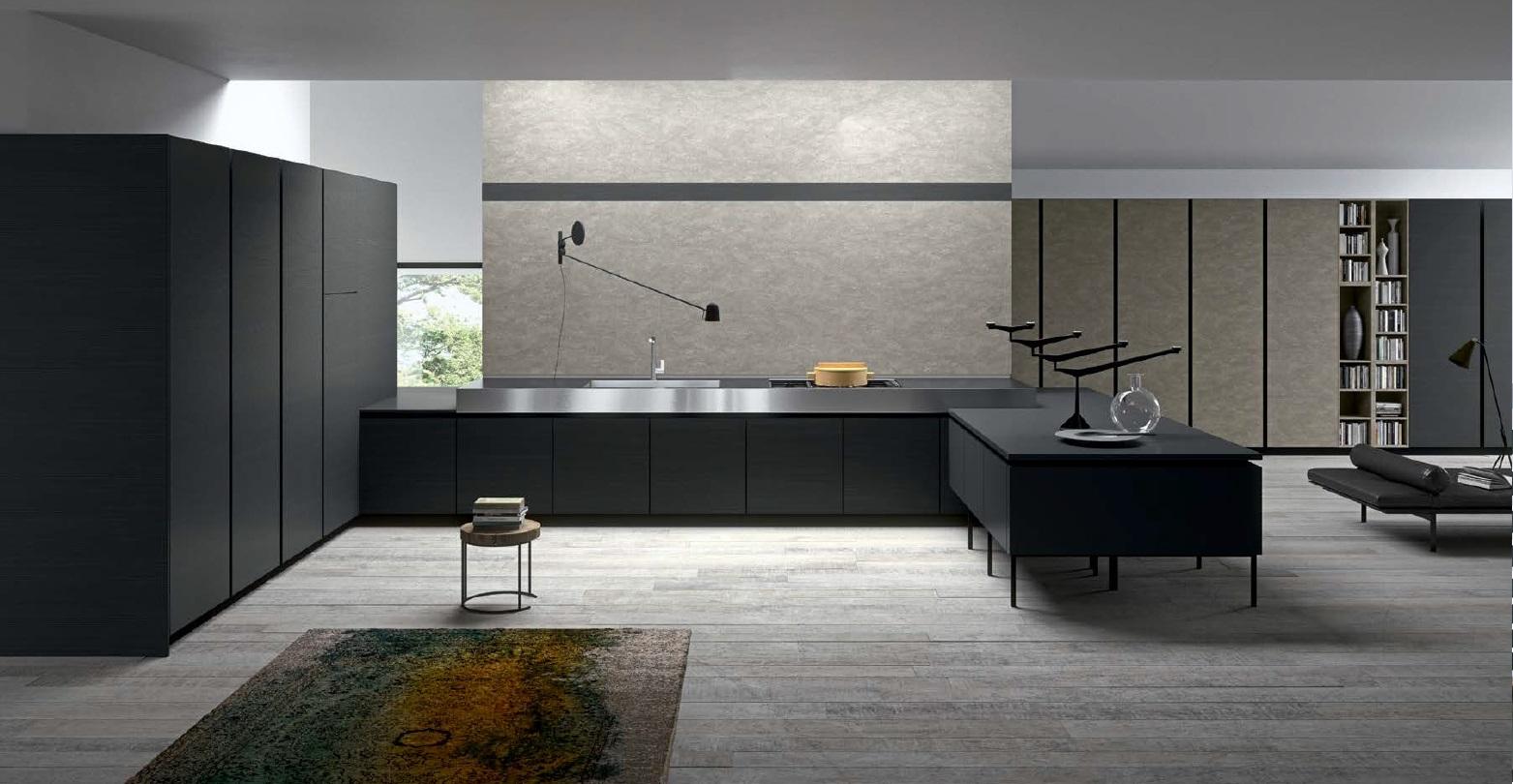 Avar modernne köögimööbel