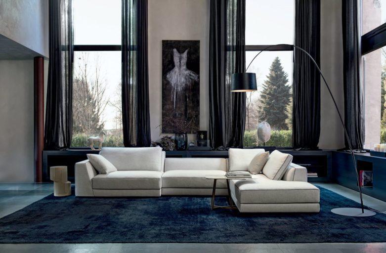 Valge disaindiivan Itaalia mööblitootjalt